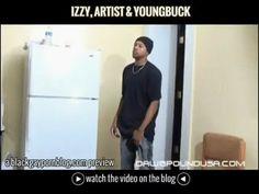 Izzy, Artist & YoungBuck in Hardwire #bigbulge #blackgay #blackgayvideo