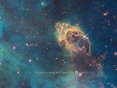 hubble image - Carina Nebula Pillar