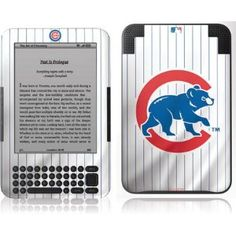 Amazon Kindle 3  ~ Chicago Cubs Home Jersey Vinyl Skin $30