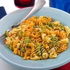 Sue Bee Honey Patriotic Pasta Salad