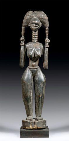 Africa | Figure from the Temne people of Sierra Leone | Wood