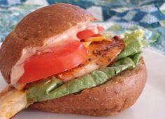 Blackened Tilapia Sandwich I One Lovely Life