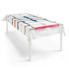 unfold tablecloth, fold unfold, tablecloths, textil, dip dye