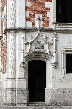 Cour intérieure du Château de Blois: Le Porc-Epic, symbole du roi Louis XII