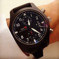 Pilot's Watch Chronograph Top Gun by IWC Schaffhausen