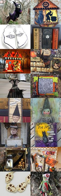 Halloween Inspired Art Finds by Carla on Etsy--Pinned with TreasuryPin.com