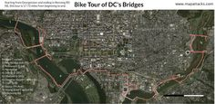 How To Cross Ten D.C. Bridges In One Bike Ride