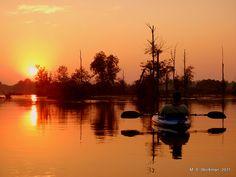 Kicking back on the Kalamazoo River
