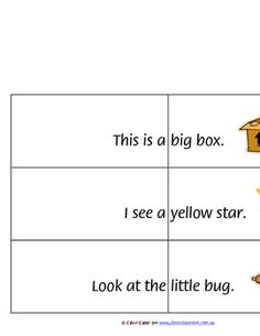 Basic Structures Learn to Read Level 0 Sentence Joiners - PDF file8 page parent or teacher resource.24 sentence joiners.These level 0 b...