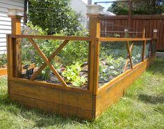 Raised Garden Fencing #5: Finally - Done & Installed - by BlankMan @ LumberJocks.com ~ woodworking community