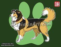 Custom Pet Art  Portrait Illustration by tatsushop on Etsy