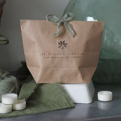 Tealights Gift Bag - Choose Your Scents – The Botanical Candle Co.