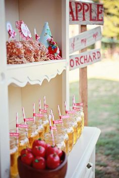 ADORABLE Farmer's Market Party via Kara's Party Ideas | KarasPartyIdeas.com ...would be cute for a Rockabilly wedding!