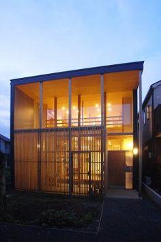 House in Nukuikitamachi, Tokyo, Japan  by: MIZUISHI Architect Atelier