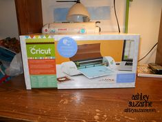 Cricut Mini Giveaway on Ashley Suzanne blog! Click through for details!