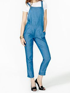 Try a pair of cute overalls for your first day back!