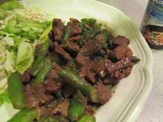 Beef & Asparagus Stir-Fry ~ Faithfulness Farm