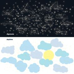 Sunny Day Starry Night, $30, now featured on Fab.