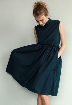 summer dresses, pocket, belt