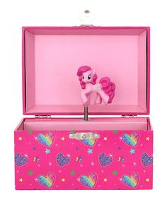 My Little Pony Dome Musical Jewelry Box by My Little Pony #zulily #zulilyfinds