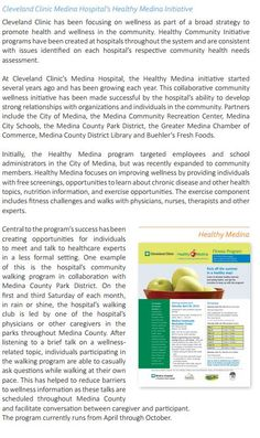 For more information, download your free copy of The Center's July 2014 Issue Brief - Improving Health in our Hometowns.