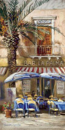 Bar La Palma Giclee Print at Posters2Prints.com