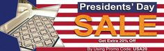 #Presidents Sale at