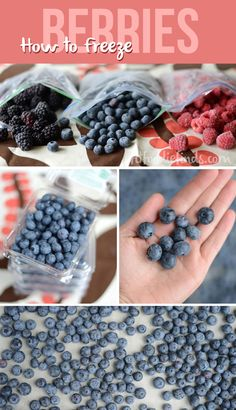 How to Freeze Berries via FitFoodieFinds.com