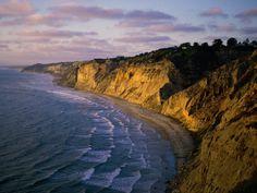 Torrey Pines in San Diego, beautiful coastline and some of my favorite running!