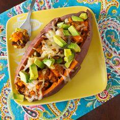 Stuffed Sweet Potatoes |Betsylife.com
