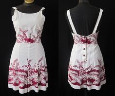 Playsuit with a bolero and a skirt... border prints sure look nifty.