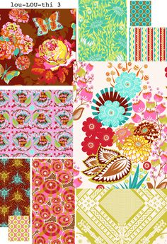Love this line of Anna Maria Horner fabric.