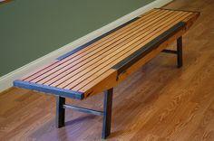 benches, urbandrift reclaim, furnitur design, metal art, church furnitur