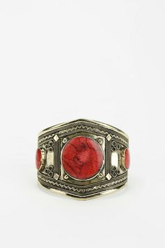 Stone Cuff Bracelet #urbanoutfitters