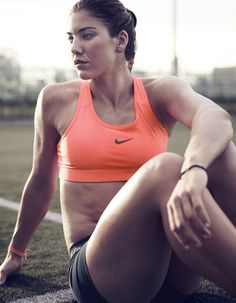 Hope Solo. Fit is the new sexy!