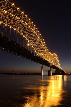 Memphis Bridge --- One of my favorite bridges.