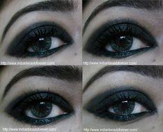 Smokey Black Eye Makeup Tutorial