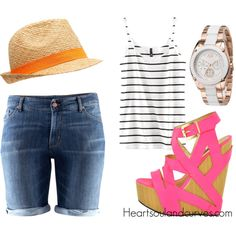 This Will Be My Summer..., created by adoremycurves on Polyvore