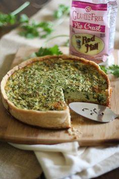 Gluten Free Fine Herbes Quiche | Bob's Red Mill #MeatlessMonday