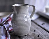 Rustic Cream Pitcher