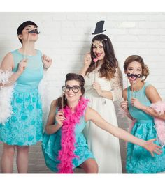 #DIY Photo Booth Props | #DIY Wedding Idea from Joann.com | Supplies available at Jo-Ann Fabric and Craft Stores | #craftyeverafter