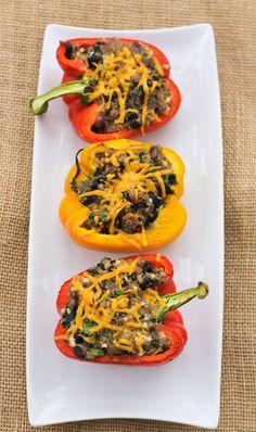 Quinoa Stuffed Peppers from @Love & Zest