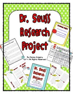 Dr. Seuss Research Project