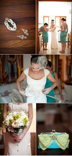 A Nicole Miller #bride getting ready