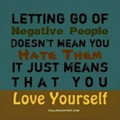 Letting go.... words-to-live-by