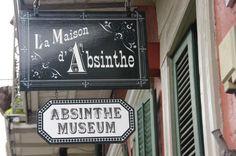 new orleans absinthe museum. #hotelmonteleone #TakeMetoNOLA