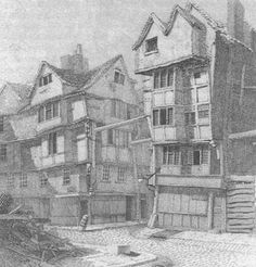 Unplanned housing, Daily life and hazards, 18th century London (Source: http://theloveforhistory.com)
