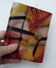 A beautiful journal made by Chad Alice Hagen