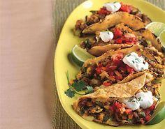 Chorizo and Scrambled Egg Breakfast Tacos Recipe | Epicurious.com