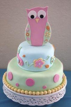 Perfect baby shower cake